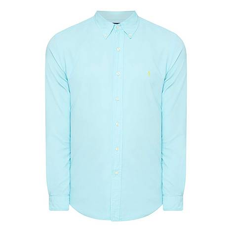 Oxford Slim Shirt, ${color}