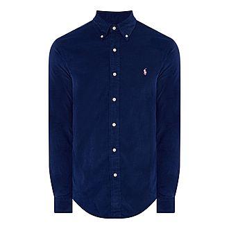 Cord Slim Fit Shirt