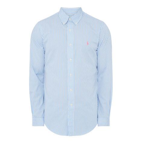 Stripe Poplin Shirt, ${color}