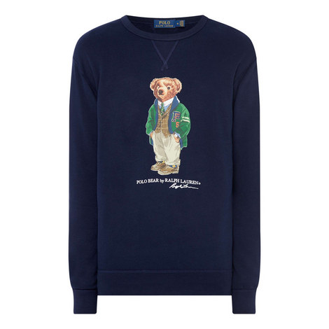 Teddy Bear Sweatshirt, ${color}