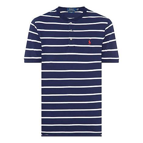 Stripe Henley T-Shirt, ${color}