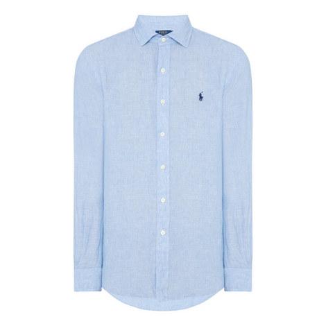 Relaxed Linen Shirt, ${color}