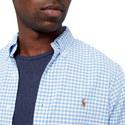 Oxford Slim Gingham Shirt, ${color}