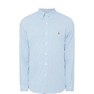 Oxford Slim Gingham Shirt