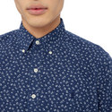 Floral Demin Shirt, ${color}