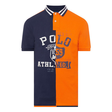 Split Polo Shirt, ${color}