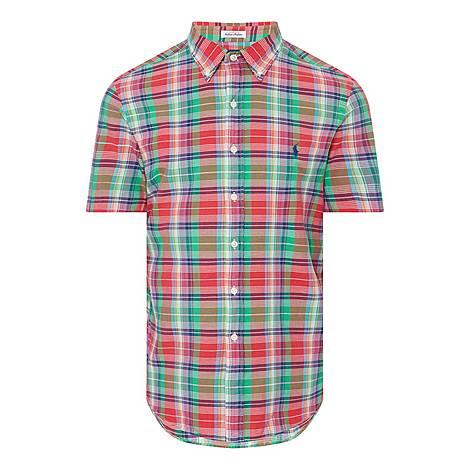 Custom Check Shirt, ${color}