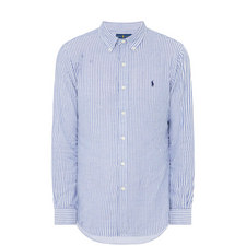 Double Faced Stripe Shirt