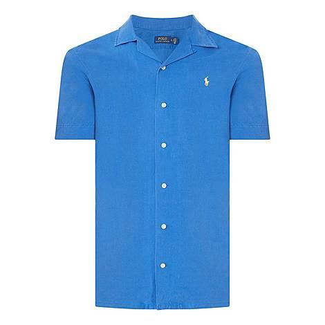 Classic Fit Linen Blend Shirt, ${color}