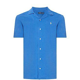 Classic Fit Linen Blend Shirt