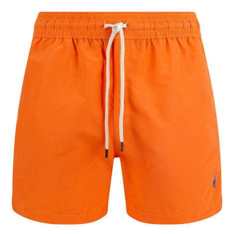 Solid Swim Shorts, ${color}