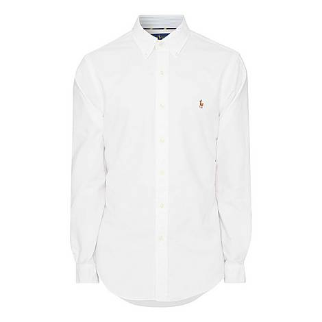 Oxford Stripe Cuff Shirt, ${color}