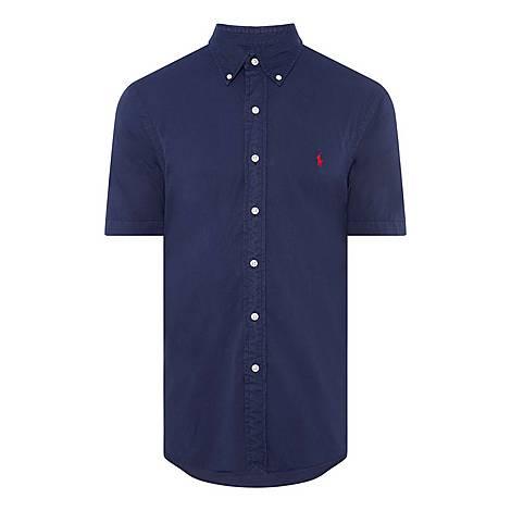 Slim Fit Short Sleeve Shirt, ${color}