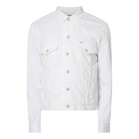 Casual Denim Jacket, ${color}