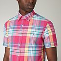 Madrass Check Short Sleeve Shirt, ${color}
