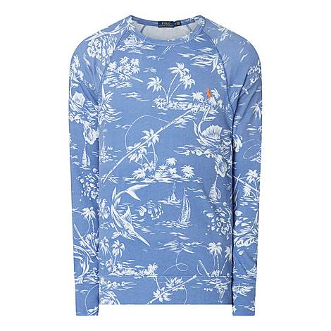 Marlin Spa Terry Sweatshirt, ${color}