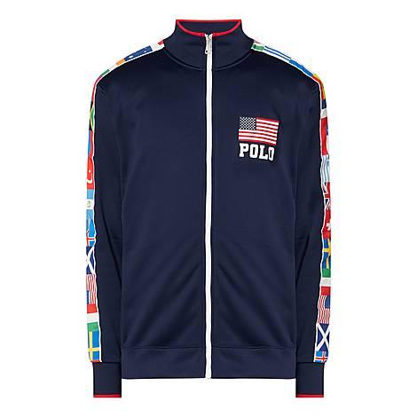 Olympic Zip Through Sweatshirt, ${color}