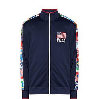 Olympic Zip Through Sweatshirt