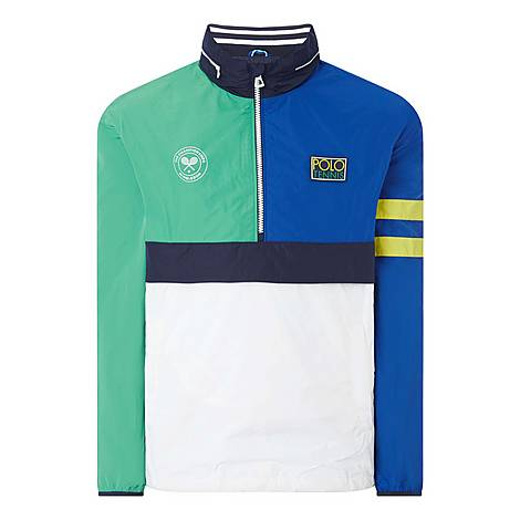 Tennis Pullover Windbreaker, ${color}