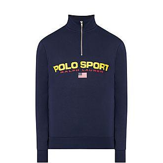 Polo Fleece Sweatshirt