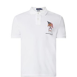 Teddy Flag Polo Shirt