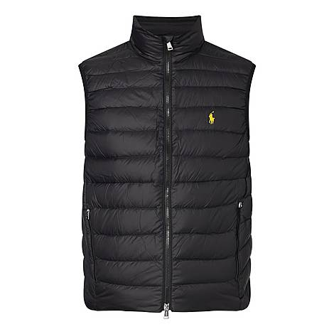 Holden Turtleneck Gilet, ${color}