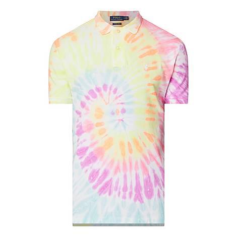 Tie Dye Polo Shirt, ${color}