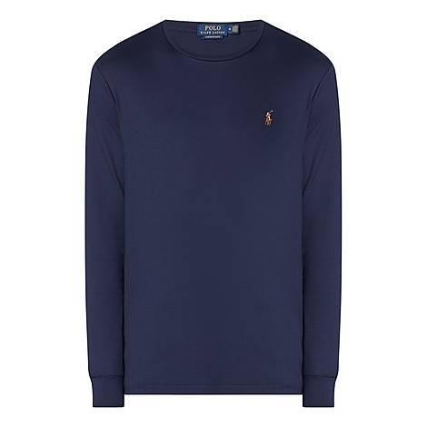 Long Sleeve Custom Fit T-Shirt, ${color}
