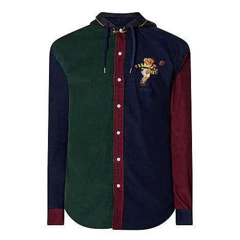 Custom Bear Cord Shirt Jacket, ${color}