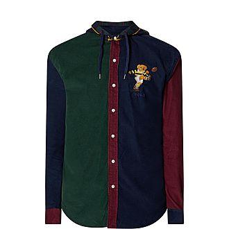 Custom Bear Cord Shirt Jacket