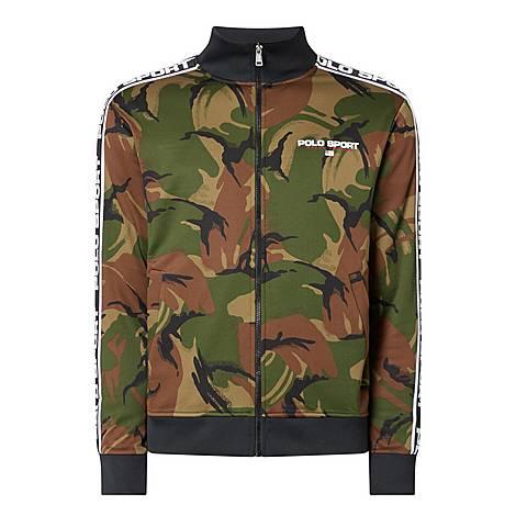 Camouflage Zip Sweatshirt, ${color}