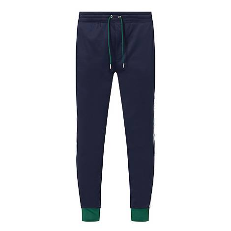 Tape Logo Tracksuit Bottoms, ${color}