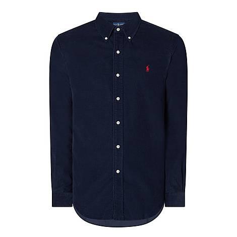Custom Fit Cord Shirt, ${color}