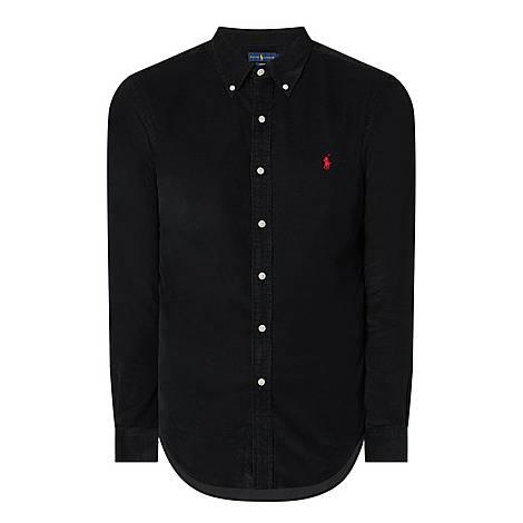 Cord Slim Shirt, ${color}