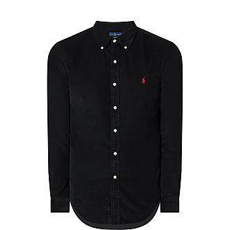 Cord Slim Shirt