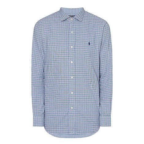 Regular Check Shirt, ${color}