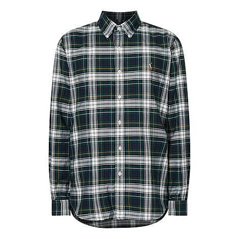 Custom Oxford Check Shirt, ${color}
