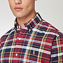 Oxford Check Slim Fit Shirt, ${color}