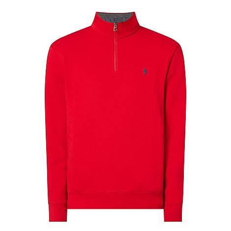 Quarter-Zip Roll Neck Sweater, ${color}