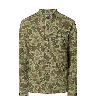 Classic Fit Camouflage Shirt