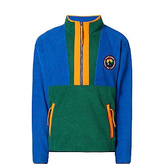 G.O. Half-Zip Fleece Sweatshirt