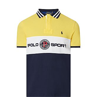 Mesh Logo Polo Shirt