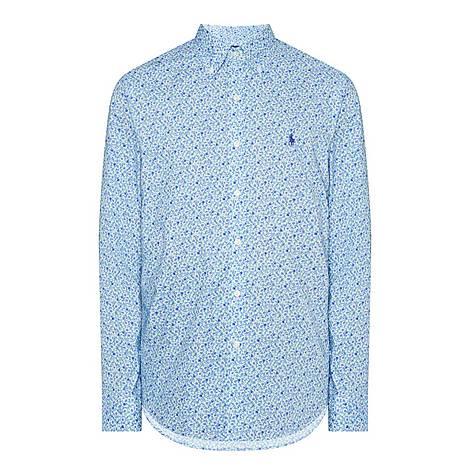 Slim Fit Floral Shirt, ${color}