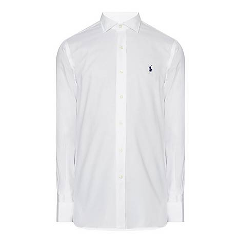 Pinpoint Textured Custom Fit Shirt, ${color}