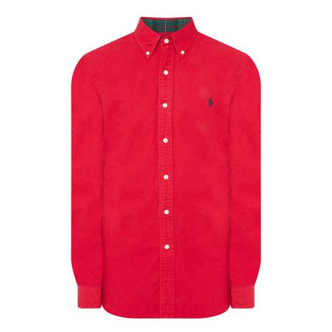 Oxford Brush Shirt, ${color}