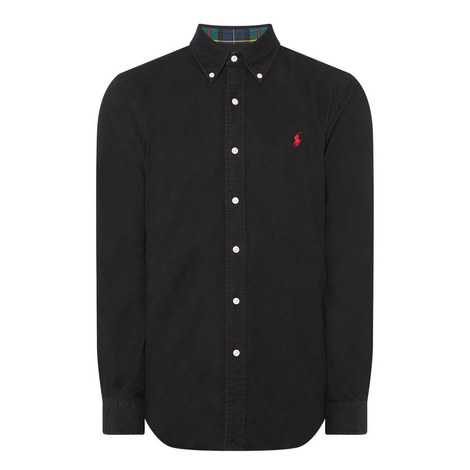 Brush Oxford Shirt, ${color}
