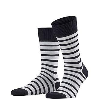 Even Stripe Socks