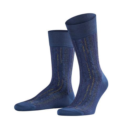 Lizard Print Socks, ${color}
