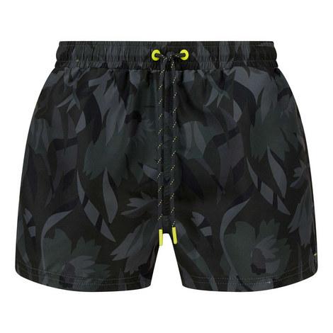 Barreleye Print Swim Shorts, ${color}
