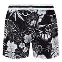 Goldfish Flower Print Swim Shorts, ${color}